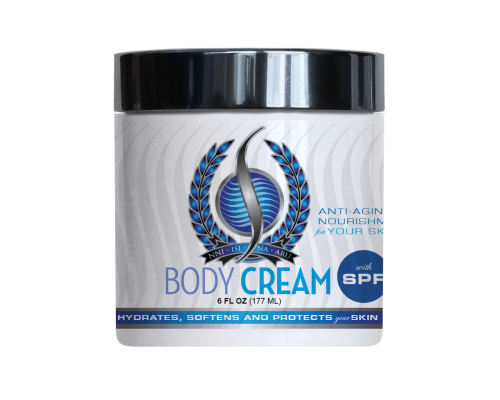 Body Cream with SPF