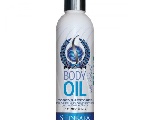 Body Oil with Natural Toning