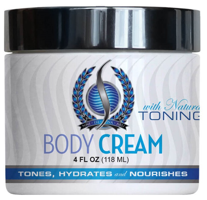 body cream with natural toning - skin care latcosmic